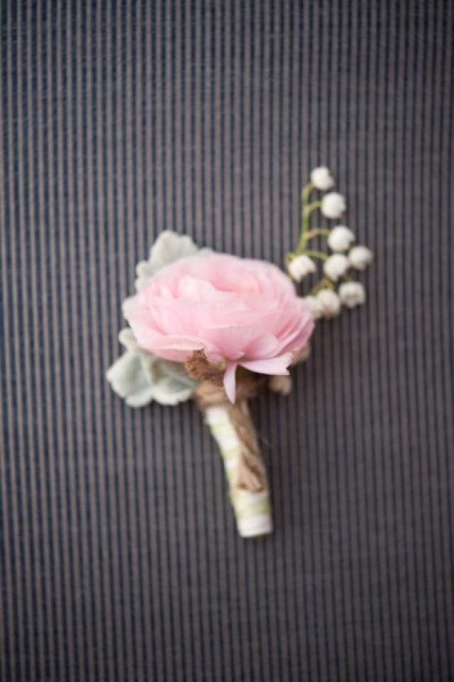 wedding photo - Boutonniere