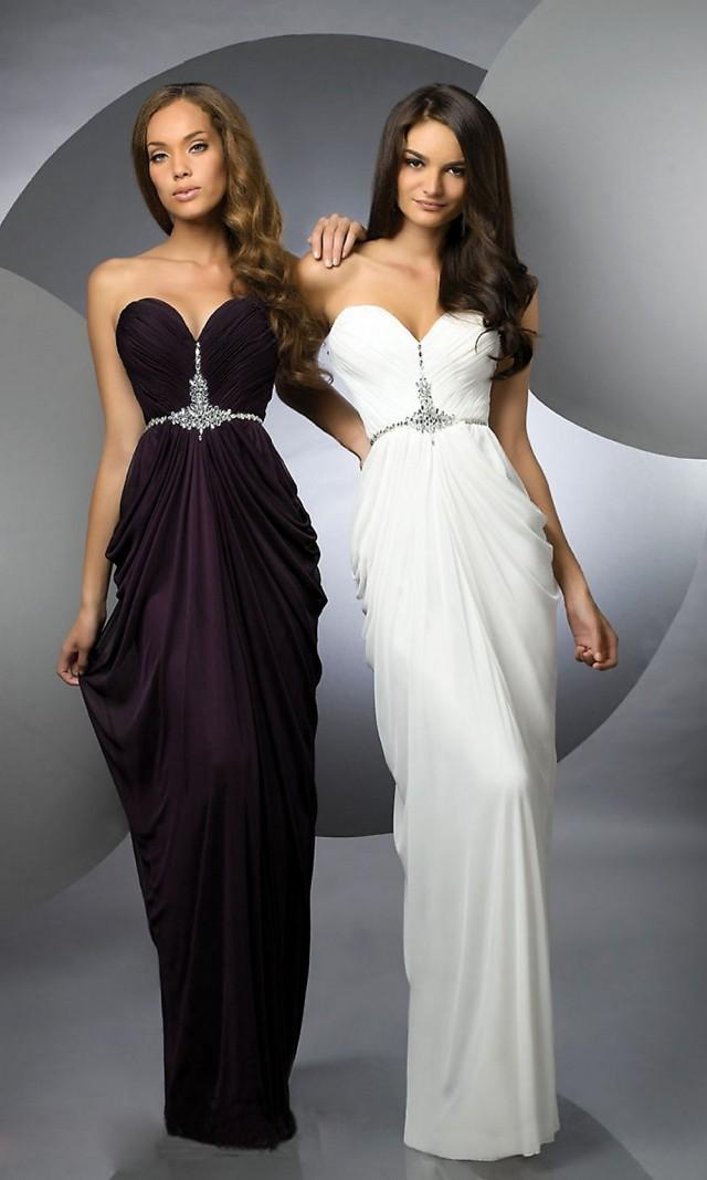 wedding photo - Ruched Sheath/Column Sweetheart Chiffon Prom Dress with Beading
