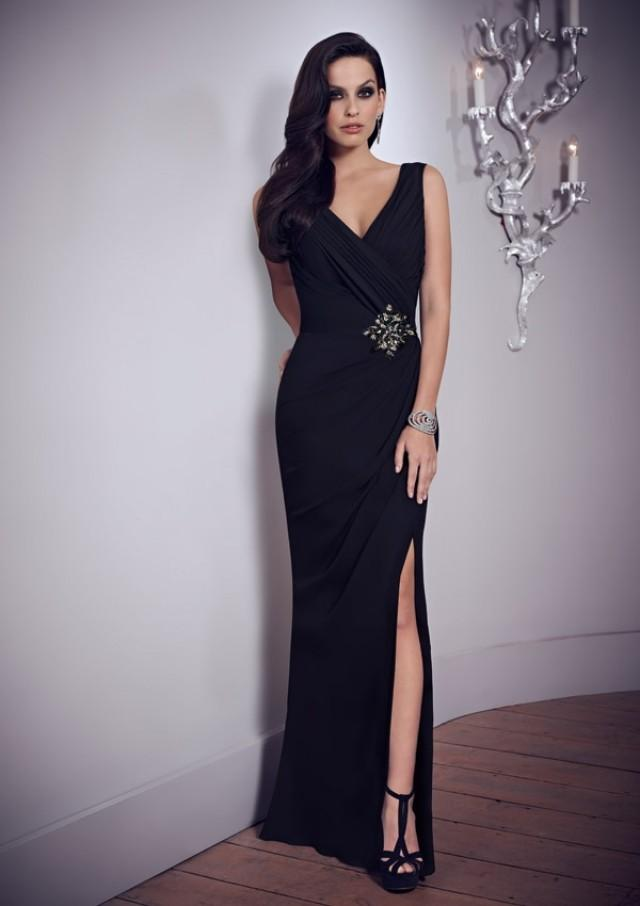 wedding photo - Embellished Chiffon Gown Mother Of The Bride Dresses(HM0687)