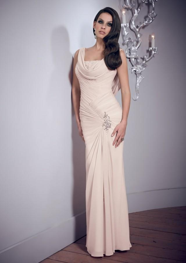 wedding photo - Draped Chiffon Gown Mother Of The Bride Dresses(HM0686)