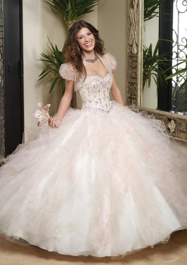 wedding photo - Satin And Tulle With Embroidery And Beading Bridesmaids Dresses(HM0575)