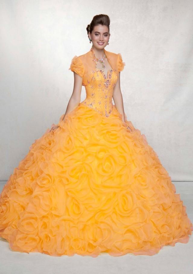 wedding photo - Organza With Beading Bridesmaids Dresses(HM0570)