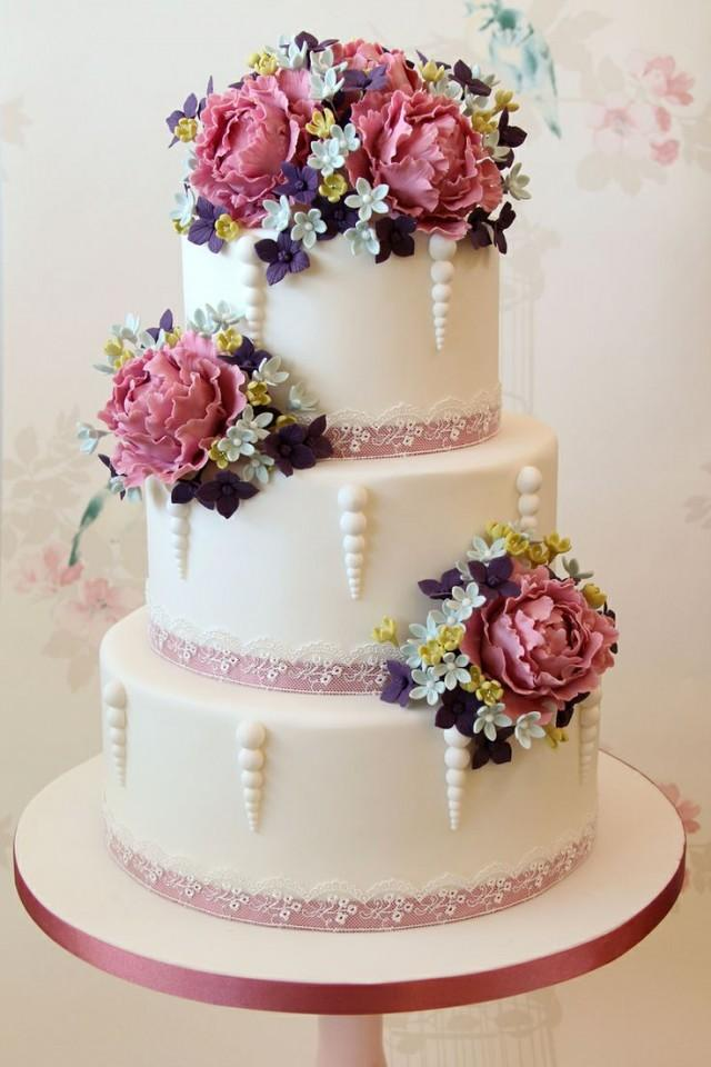 Gâteau - Gâteaux De Mariage #2096133 - Weddbook