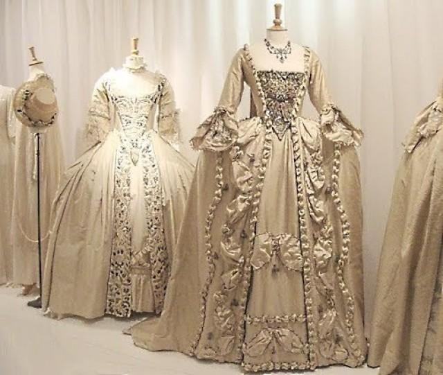 Baroque rococo 17th 18th century marie antoinette for 18th century wedding dress