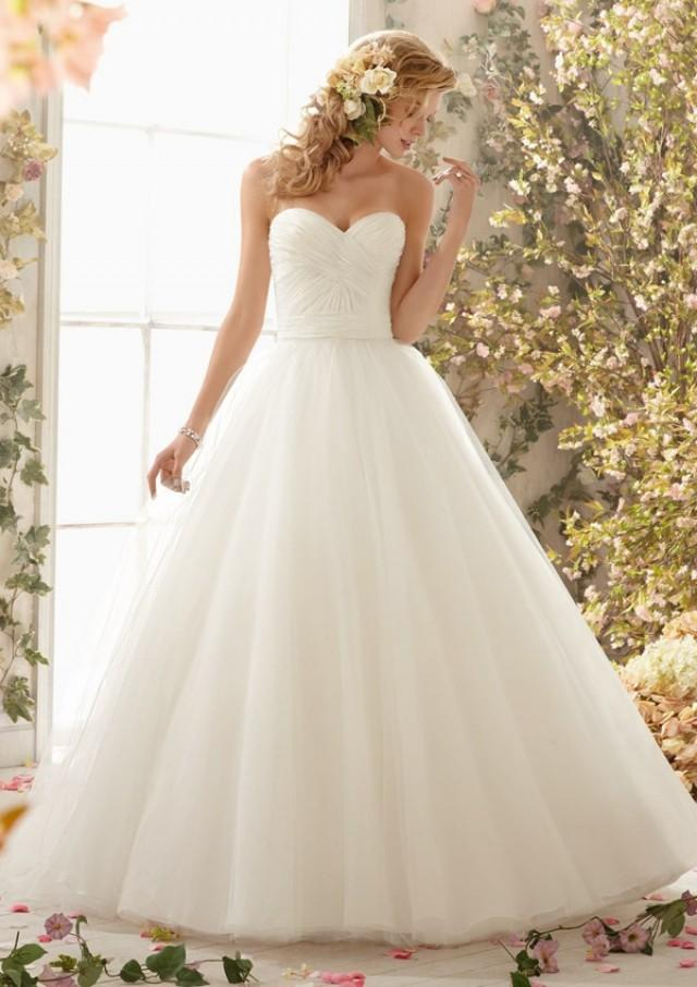 wedding photo - Tulle Ball Gown Wedding Dresses(HM0243)
