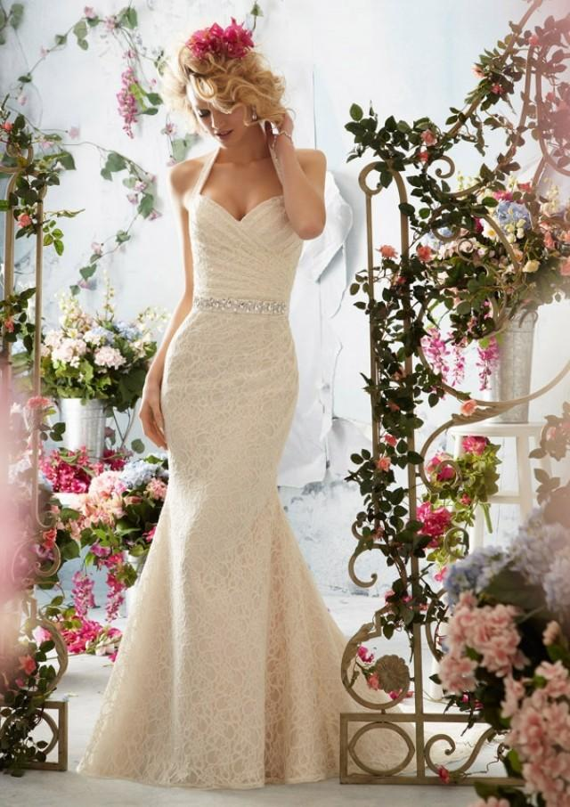 wedding photo - Poetic Lace Wedding Dresses(HM0247)