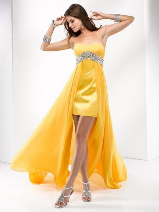 wedding photo - Think Creatively About Cheap Prom Dresses 2014
