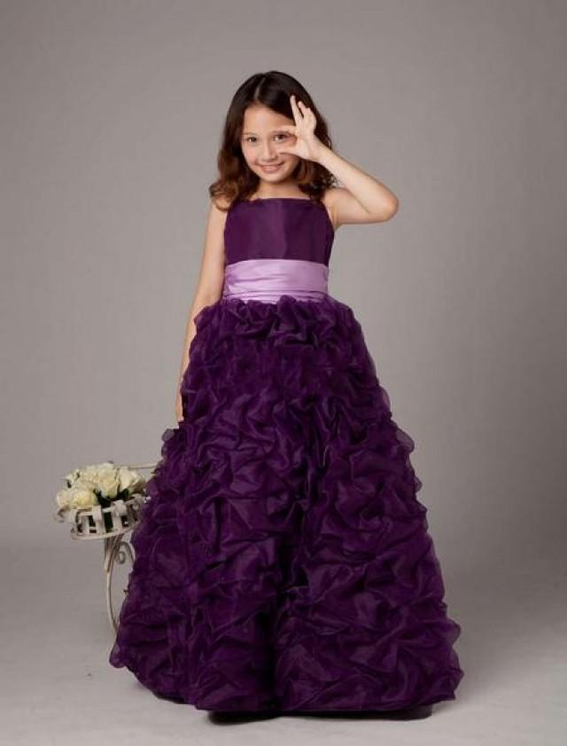 wedding photo - Elegant Flower Girl Dresses---make Your wedding day Ceremony Shine