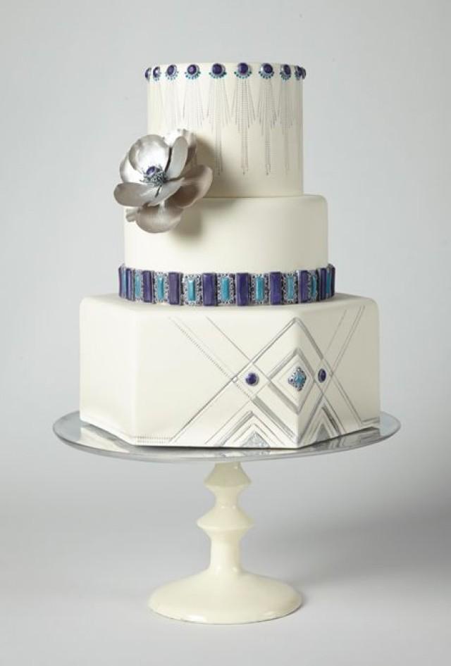 Modern Art Wedding Cake : Modern Wedding - Modern Wedding Cakes #2101484 - Weddbook