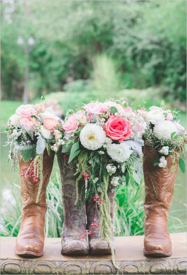 Shabby Chic Western Wedding Weddbook