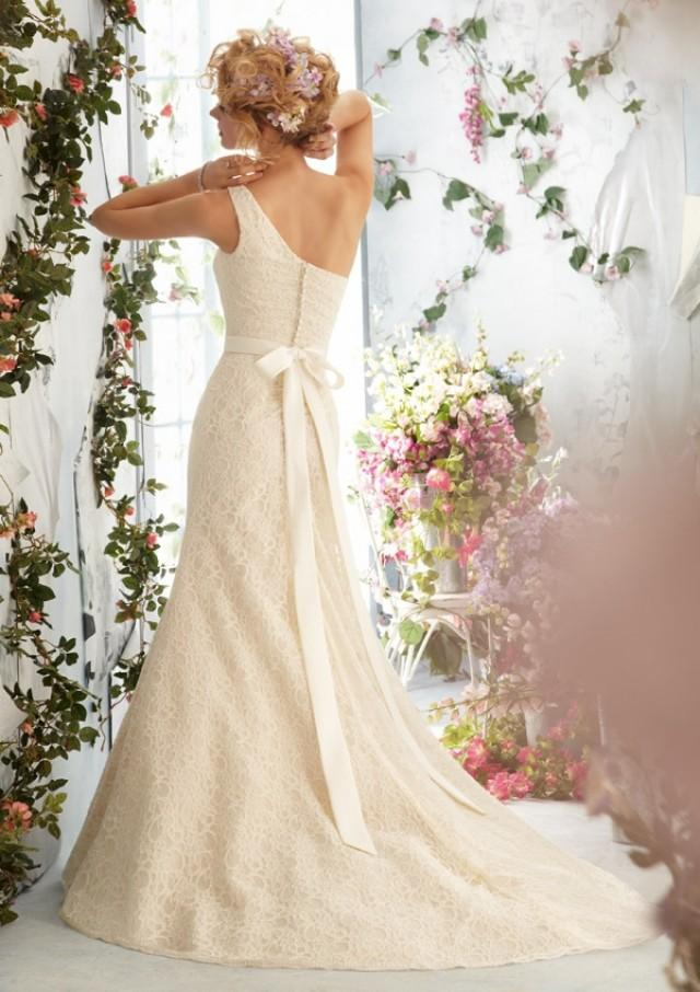 wedding photo - Poetic Lace Wedding Dresses(HM0254)