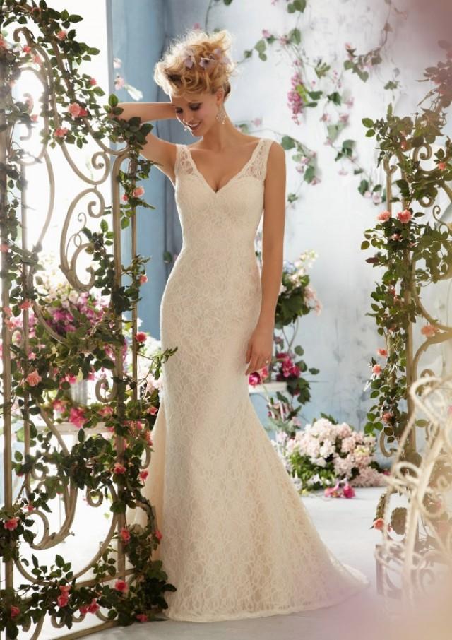 wedding photo - Poetic Lace Wedding Dresses(HM0251)