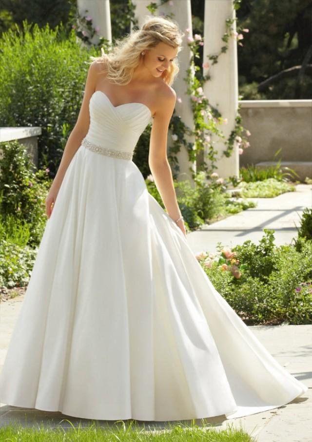 wedding photo - Luxe Taffeta Wedding Dresses(HM0268)