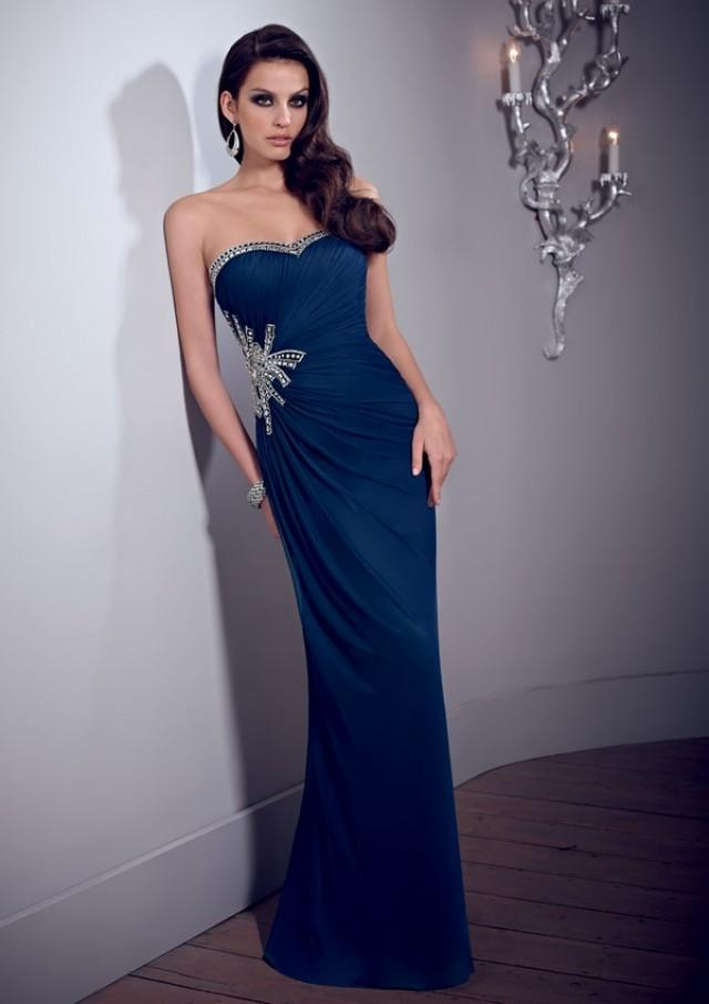 wedding photo - Stretch Mesh Mother Of The Bride Dresses(HM0711)