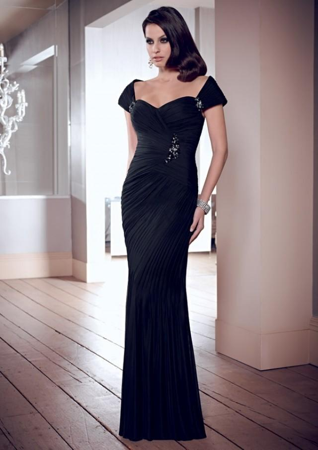 wedding photo - Stretch Mesh Mother Of The Bride Dresses(HM0710)