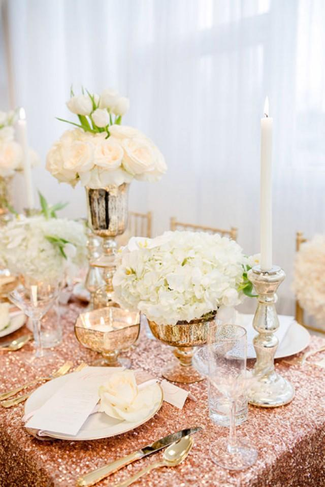 Rose gold wedding ideas weddbook for Decoration rose gold