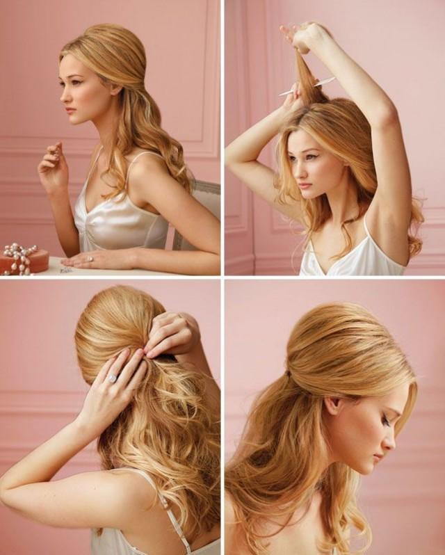 wedding hairstyles hair tutorial 2112996 weddbook