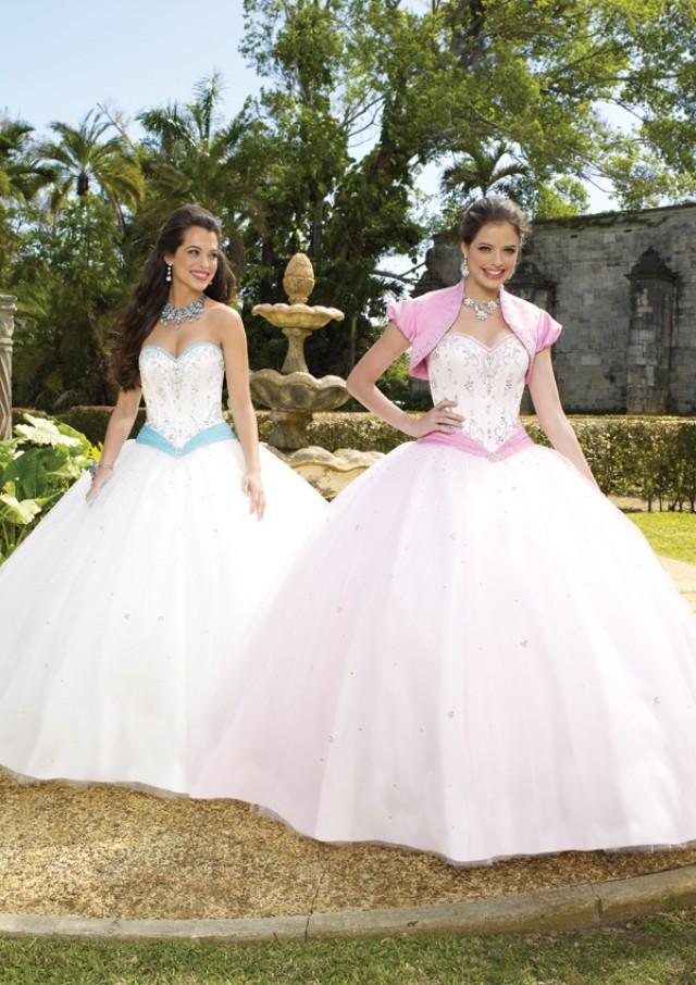 wedding photo - Silky Taffeta And Beaded Tulle Or Satin And Beaded Tulle Bridesmaids Dresses(HM0599)