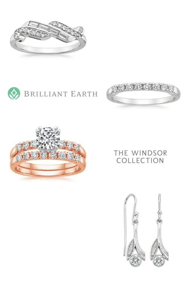 vintage inspired engagement rings from brilliant earth