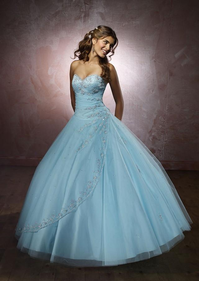 wedding photo - Satin And Tulle Bridesmaids Dresses(HM0603)