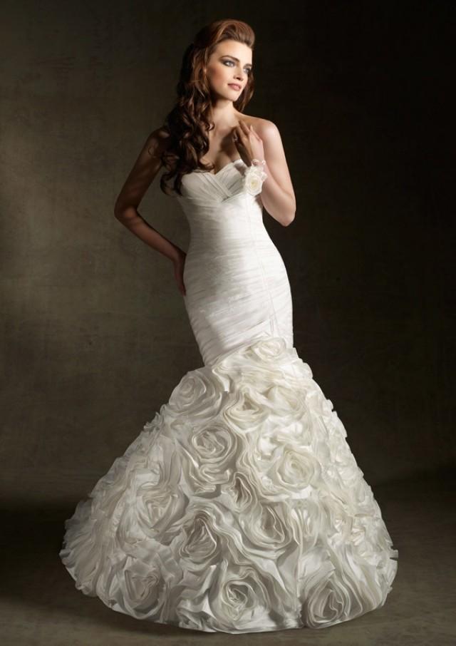 Wanweier Destination Wedding Dress Hot Silk Shantung