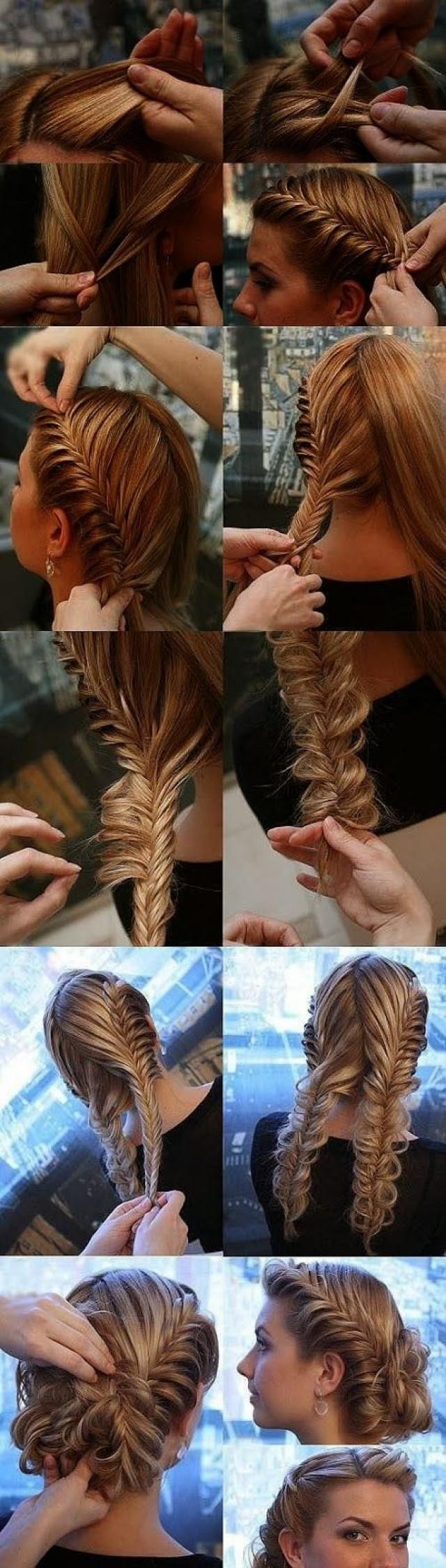 Косы своим руками на длинные волосы