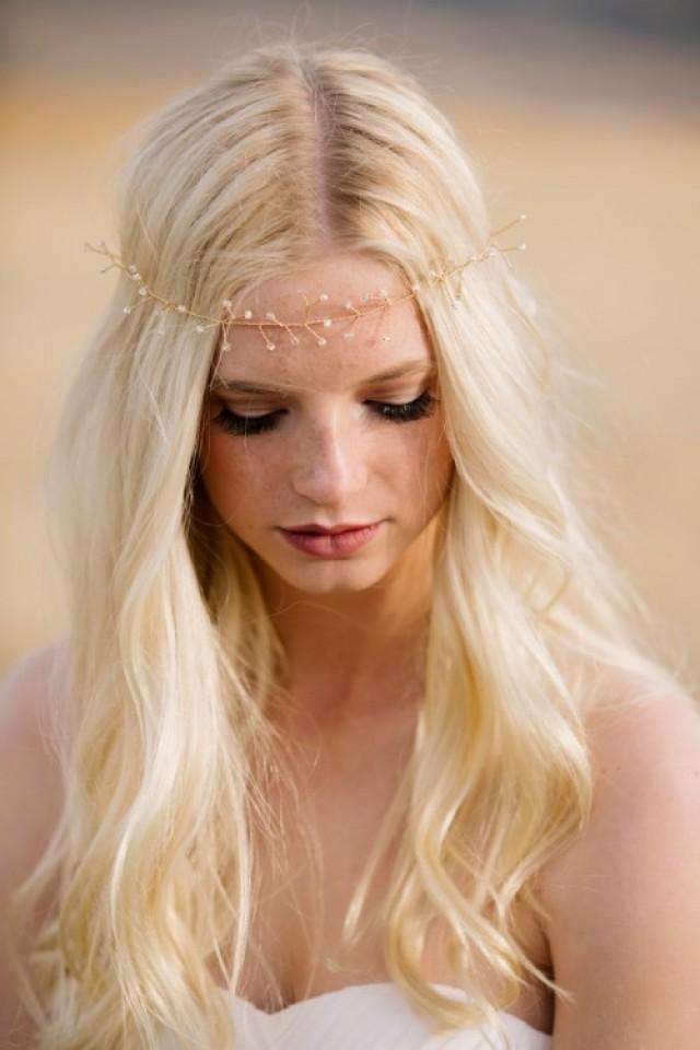 Diy Wire And Bead Crown For Boho Brides Weddingomania