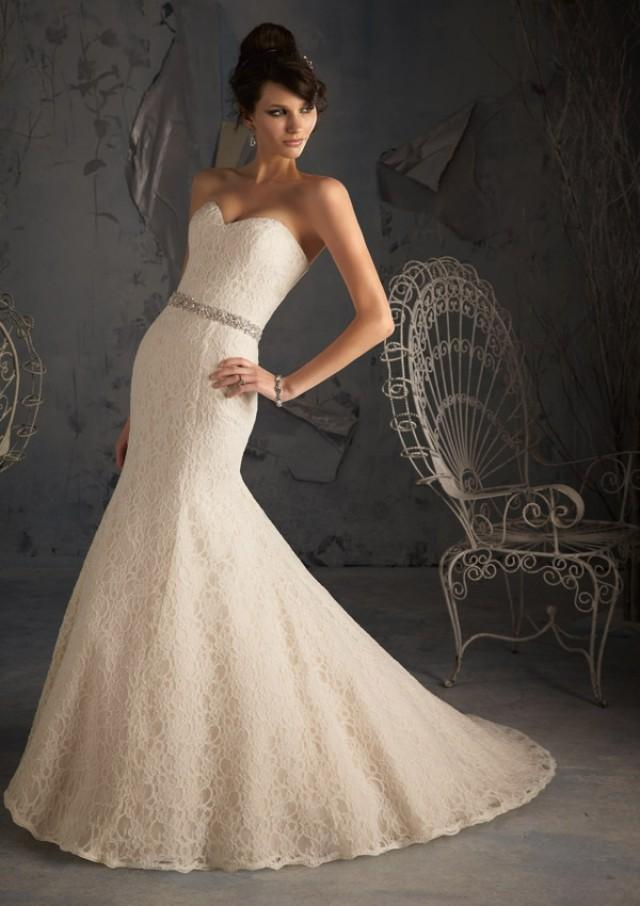 wedding photo - Poetic Lace Wedding Dresses(HM0133)