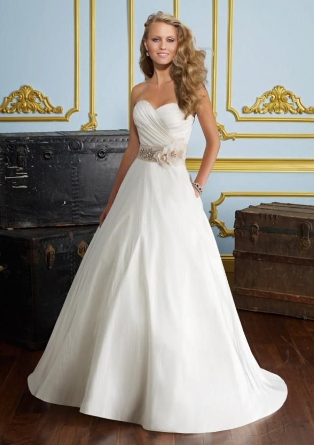 wedding photo - Luxe Taffeta Wedding Dresses(HM0278)