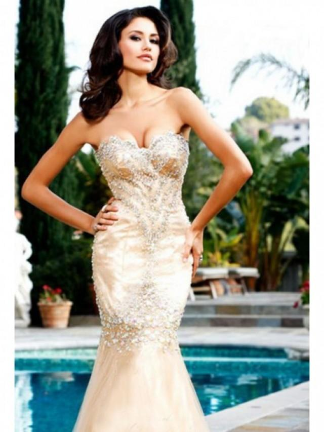 wedding photo - New Floor-length Mermaid Evening Gown