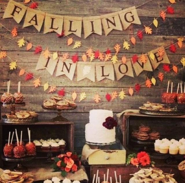 Wedding Food Ideas For Fall: FALL RUSTIC Wedding Ideas #2121950