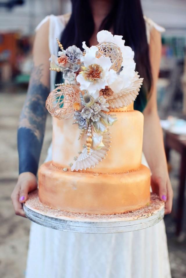 wedding photo - Bohemian Steampunk Wedding Inspiration from France
