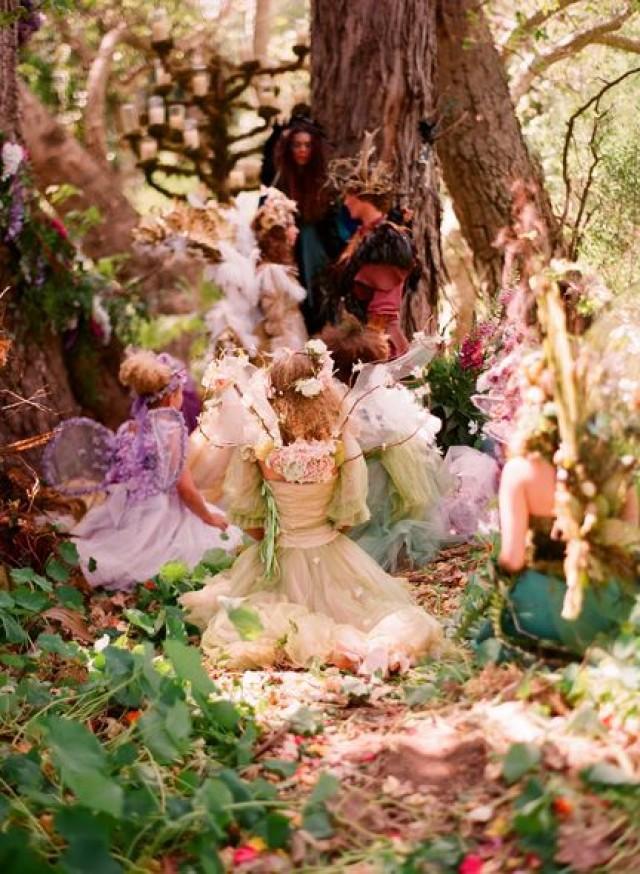Fairy wedding fairytale woodland weddings 2123899 for Woodland fairy wedding dress