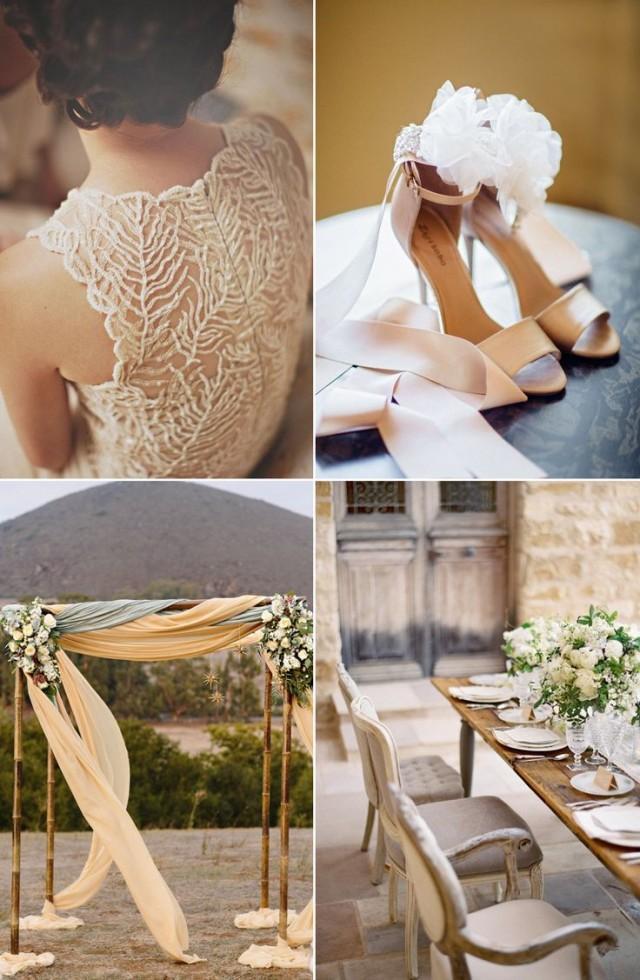 Beige Beauties Classic And Elegant Wedding Ideas 2124467