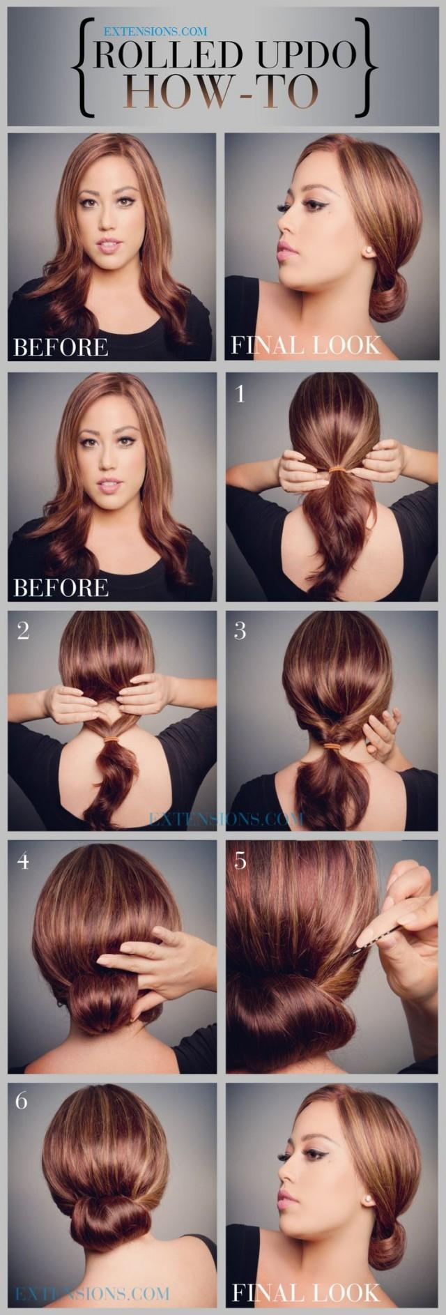 Awesome 12 Trendy Low Bun Updo Hairstyles Tutorials Easy Cute 2126618 Hairstyle Inspiration Daily Dogsangcom