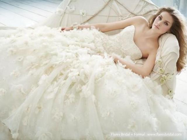 wedding photo - Flares bridal formal