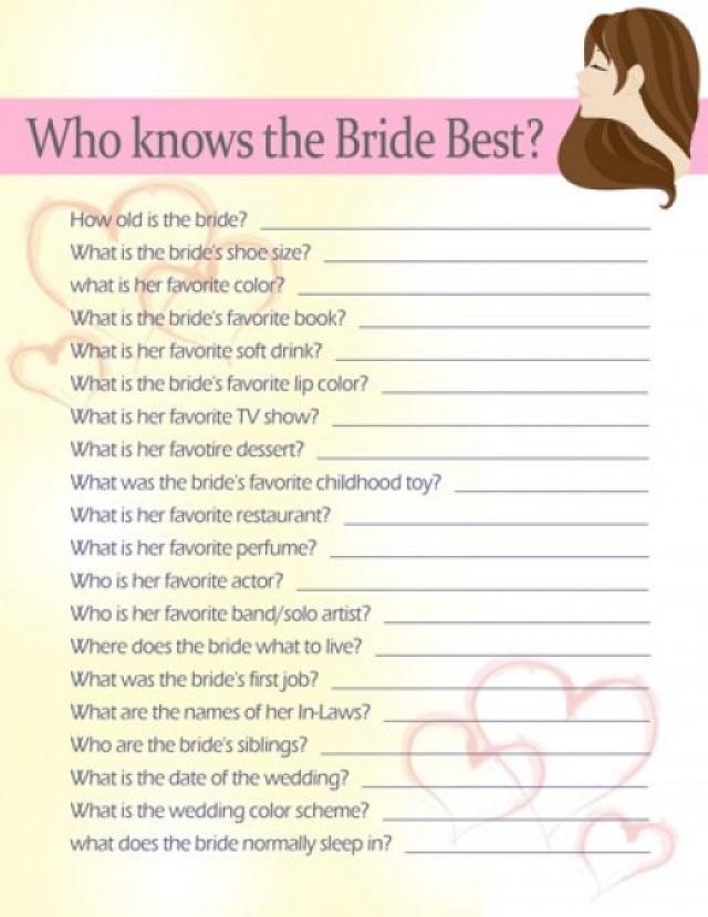 Bridal Shower 10 Fun Bridal Shower Game Ideas 2128706 Weddbook