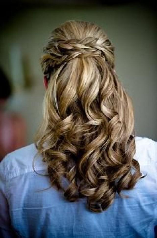Прически на длинные волосы с косой и локонами