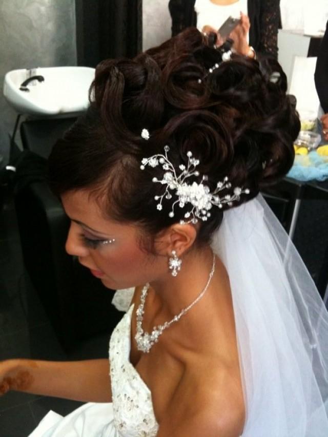 свадебные прически фото удлиненные волосы