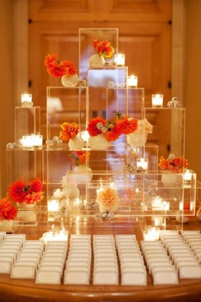 Wedding escort card wedding escort place card table Unique place card ideas