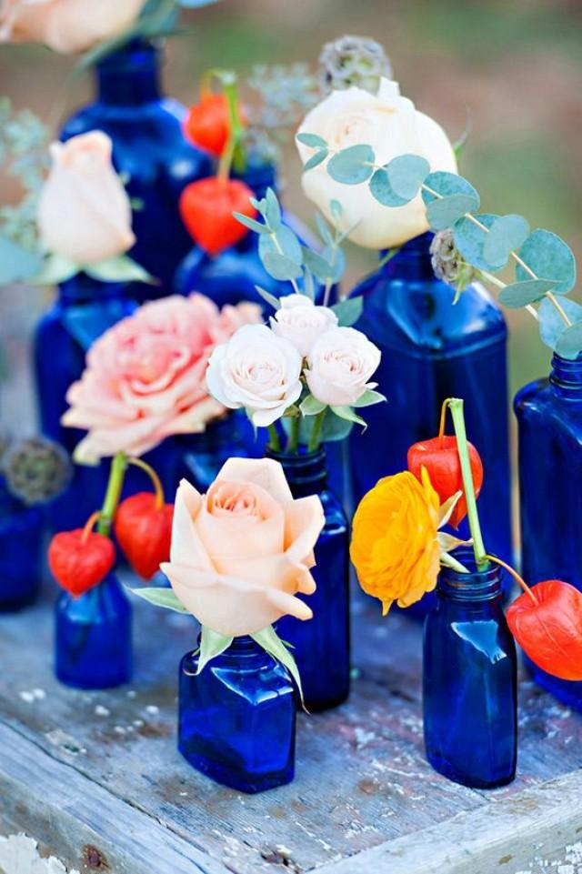 5 Cobalt Blue Color Palettes For Your Wedding Day - Weddbook