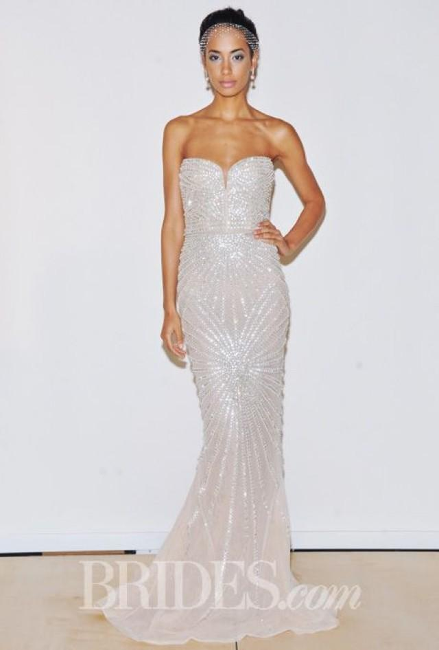 Rafael cennamo wedding dresses spring 2015 bridal runway Dresses for wedding reception