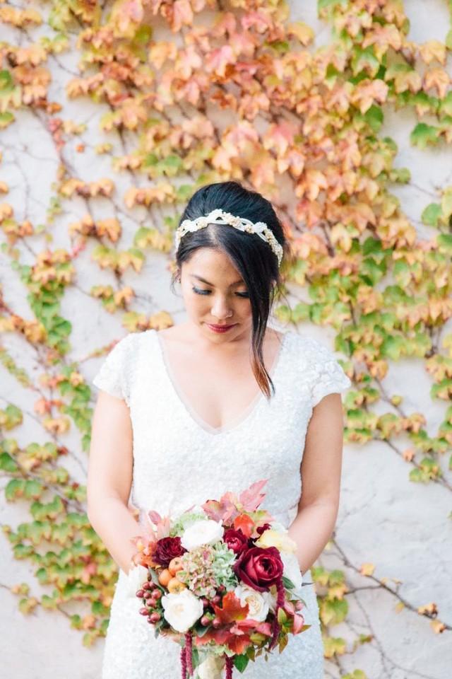 Wedding Hair Yarra Valley : Heartfelt autumn wedding in the yarra valley