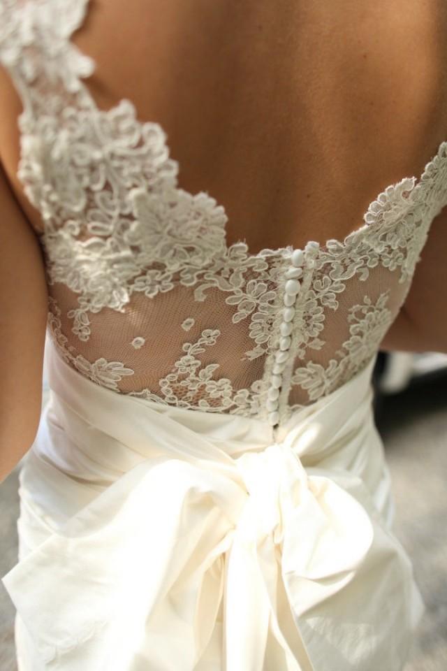 Виды кружева для свадебных платьев