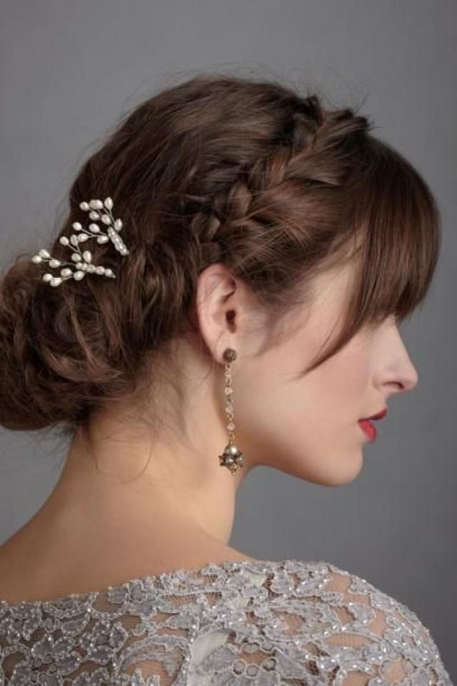 wedding photo - Pearl Bridal Accessories Inspiration. BHLDN