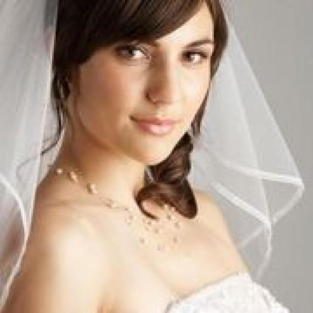 How to determine what length to wear for a bridal veil for 3 elements salon wichita ks
