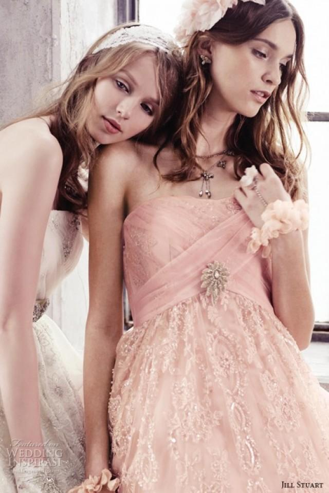 Romantic And Glam Bridal Dresses Collection By Jill Stuart ...