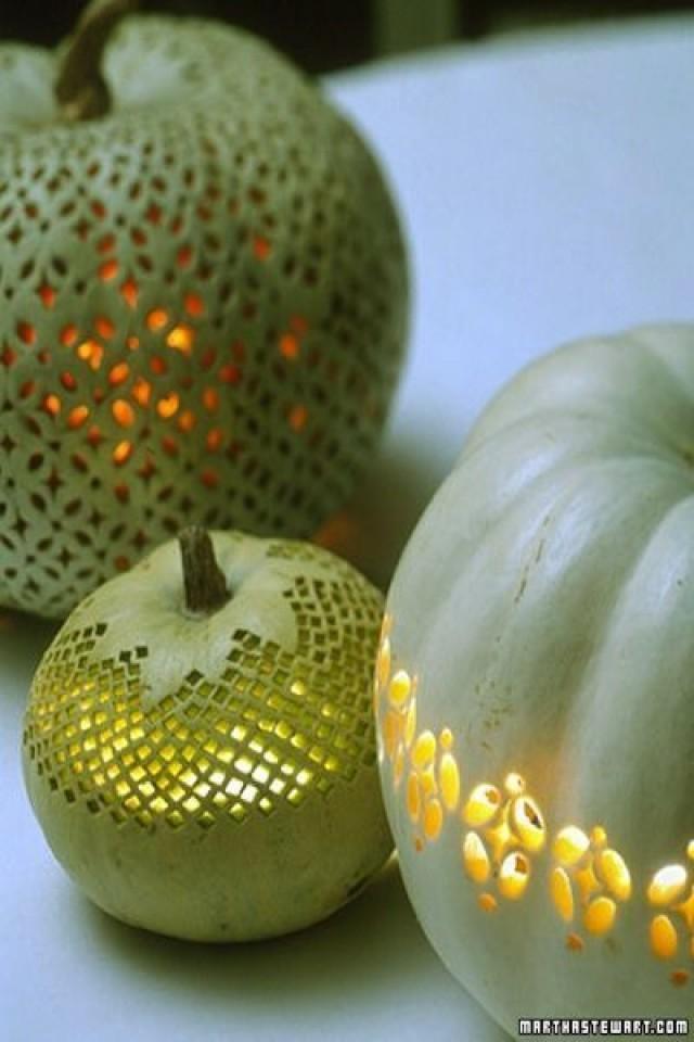 Поделки декоративные из тыквы