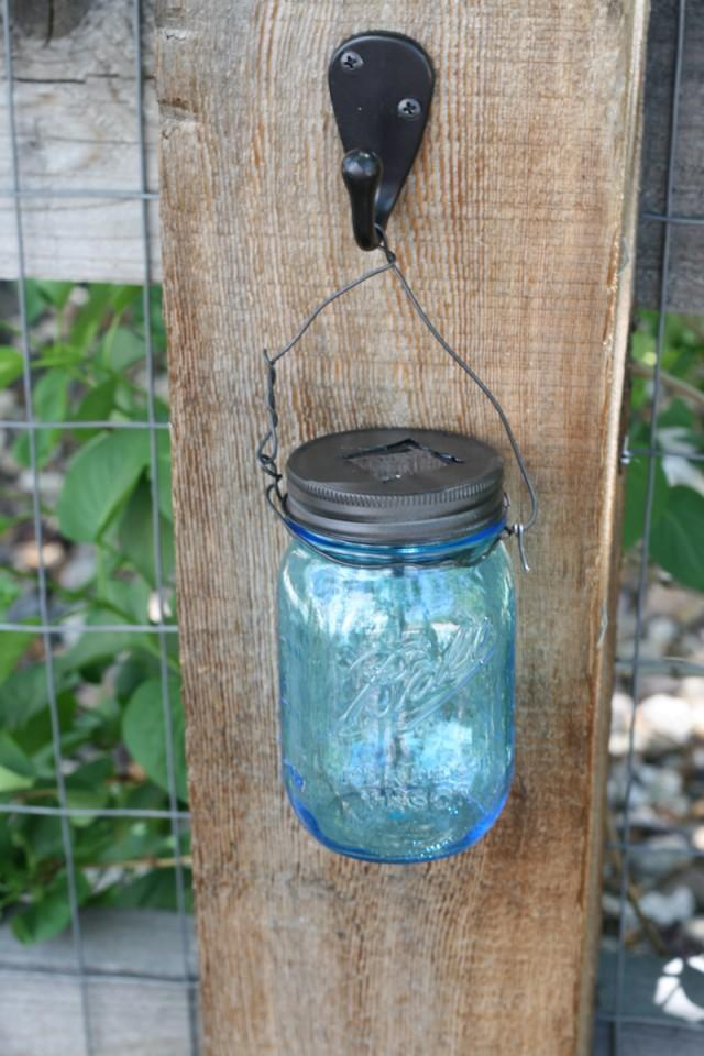 How to make mason jar solar light diy crafts for Solar lights for craft projects