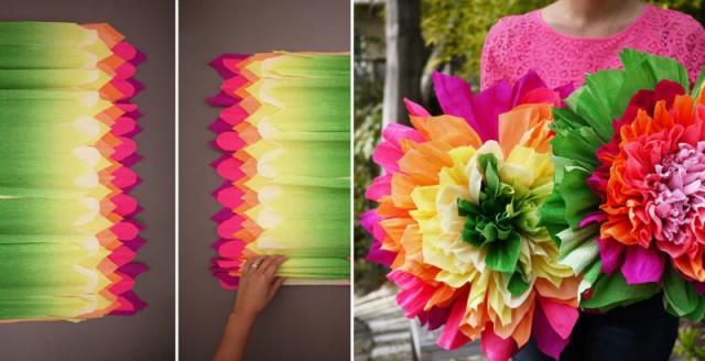 How to make crepe paper flowers diy crafts handimania weddbook mightylinksfo